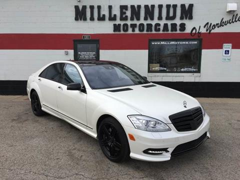 2012 Mercedes-Benz S-Class for sale at Millennium Motorcars in Yorkville IL