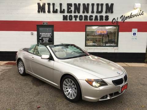 2005 BMW 6 Series for sale at Millennium Motorcars in Yorkville IL