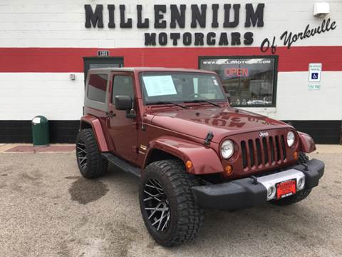 2008 Jeep Wrangler for sale at Millennium Motorcars in Yorkville IL