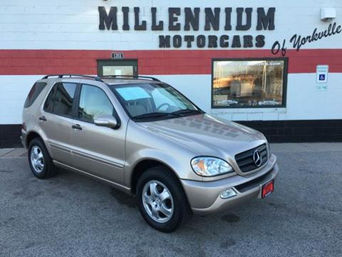 2003 Mercedes-Benz M-Class for sale at Millennium Motorcars in Yorkville IL