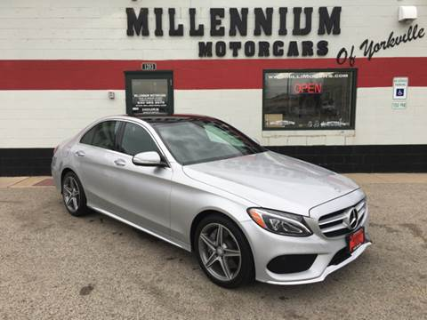 2015 Mercedes-Benz C-Class for sale at Millennium Motorcars in Yorkville IL