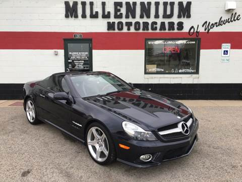 2011 Mercedes-Benz SL-Class for sale at Millennium Motorcars in Yorkville IL