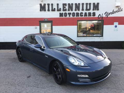 2010 Porsche Panamera for sale at Millennium Motorcars in Yorkville IL