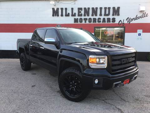 2014 GMC Sierra 1500 for sale at Millennium Motorcars in Yorkville IL