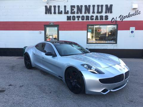 2012 Fisker Karma for sale at Millennium Motorcars in Yorkville IL