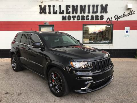 2013 Jeep Grand Cherokee for sale at Millennium Motorcars in Yorkville IL