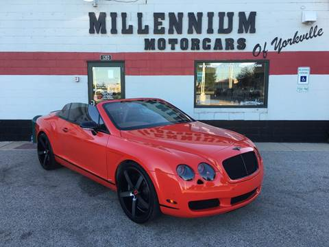 2007 Bentley Continental for sale at Millennium Motorcars in Yorkville IL