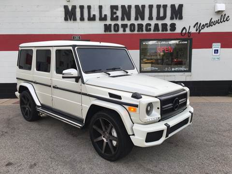 2003 Mercedes-Benz G-Class for sale at Millennium Motorcars in Yorkville IL