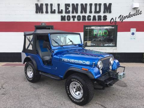 1975 Jeep CJ-5 for sale in Yorkville, IL
