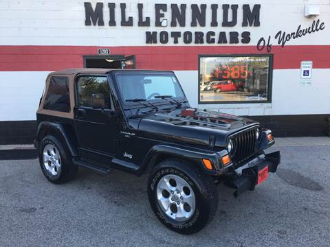 1998 Jeep Wrangler for sale in Yorkville, IL