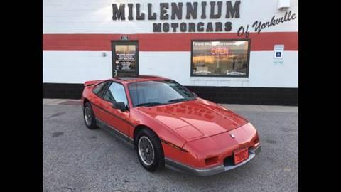 1986 Pontiac Fiero for sale in Yorkville, IL