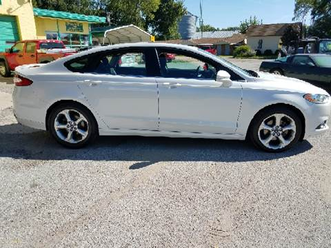 2013 Ford Fusion for sale in Central City, NE