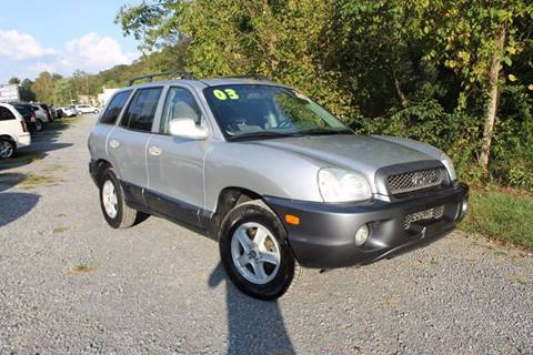 2003 Hyundai Santa Fe for sale in Seymour, TN