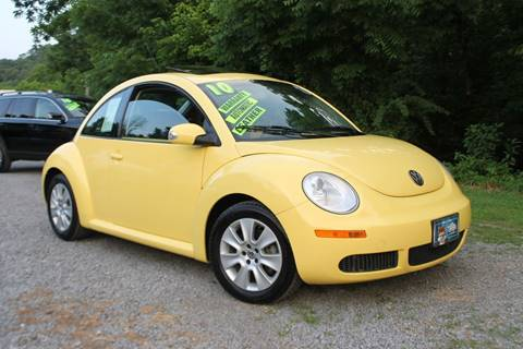 2010 Volkswagen New Beetle for sale at Union Motors in Seymour TN