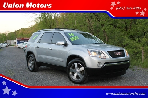 2010 GMC Acadia for sale in Seymour, TN