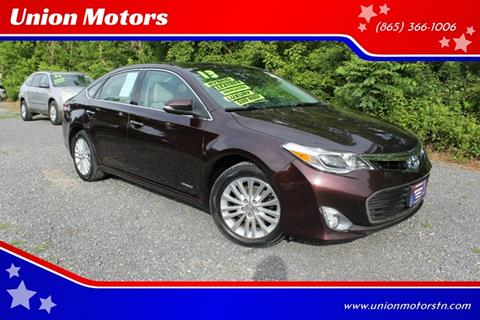 2013 Toyota Avalon Hybrid for sale in Seymour, TN