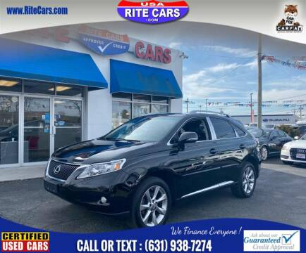 2011 Lexus RX 350 for sale at Rite Cars INC in Lindenhurst NY