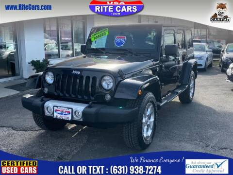 2015 Jeep Wrangler Unlimited for sale at Rite Cars INC in Lindenhurst NY