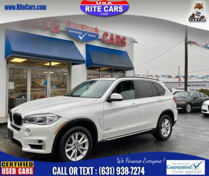 2014 BMW X5 xDrive35i for sale at Rite Cars INC in Lindenhurst NY
