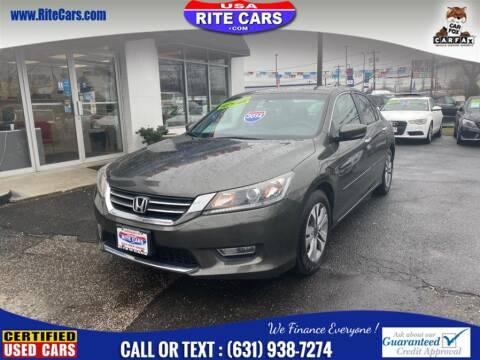 2014 Honda Accord LX for sale at Rite Cars INC in Lindenhurst NY