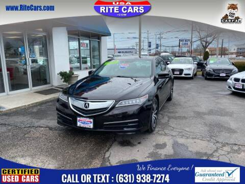2015 Acura TLX w/Tech for sale at Rite Cars INC in Lindenhurst NY