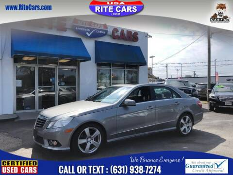 2010 Mercedes-Benz E-Class for sale at Rite Cars INC in Lindenhurst NY