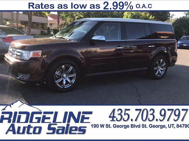 2009 Ford Flex for sale at Ridgeline Auto Sales in Saint George UT