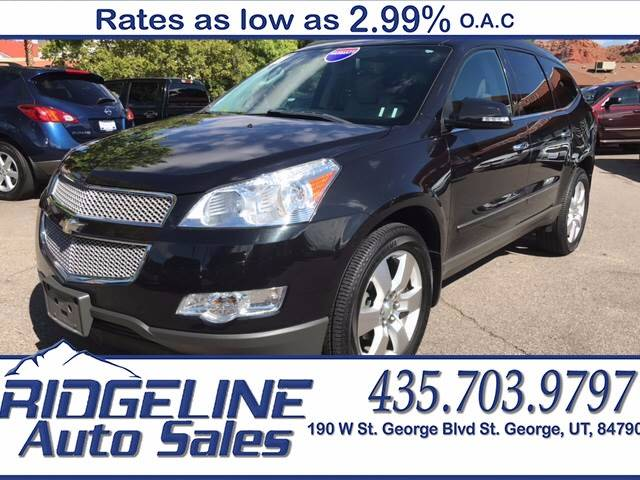 2010 Chevrolet Traverse for sale at Ridgeline Auto Sales in Saint George UT