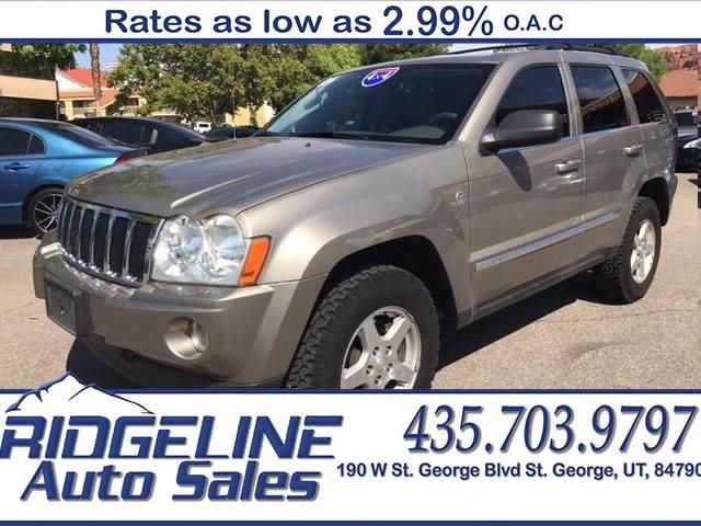 2005 Jeep Grand Cherokee for sale at Ridgeline Auto Sales in Saint George UT