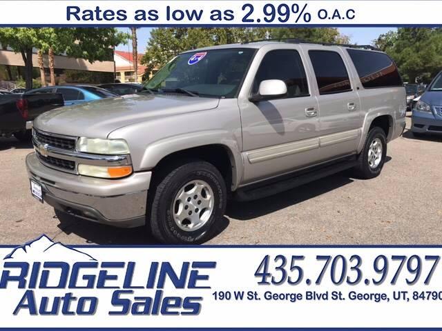 2004 Chevrolet Suburban for sale at Ridgeline Auto Sales in Saint George UT