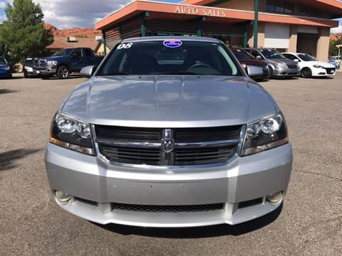 2008 Dodge Avenger for sale at Ridgeline Auto Sales in Saint George UT
