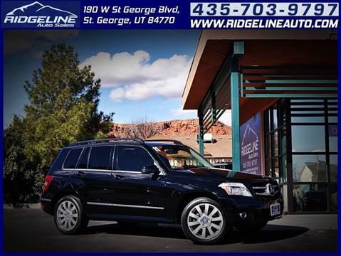Used Mercedes Benz Glk For Sale In Utah Carsforsale Com