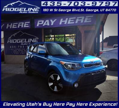 2016 Kia Soul for sale at Ridgeline Auto Sales in Saint George UT