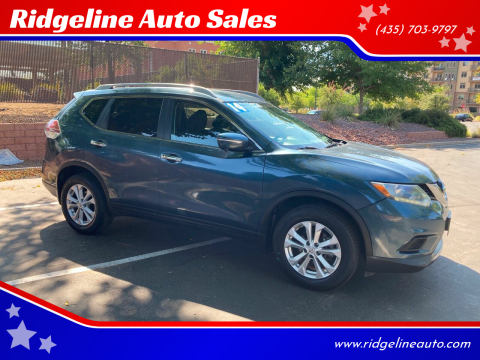 2014 Nissan Rogue for sale at Ridgeline Auto Sales in Saint George UT