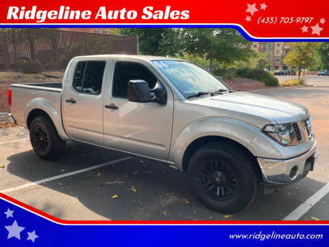 2006 Nissan Frontier for sale at Ridgeline Auto Sales in Saint George UT