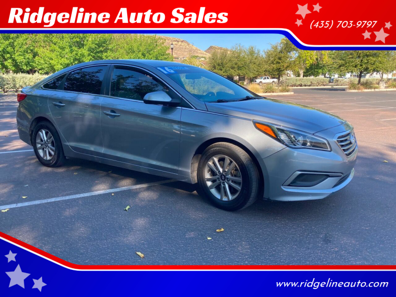 2016 Hyundai Sonata for sale at Ridgeline Auto Sales in Saint George UT