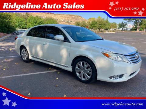 2011 Toyota Avalon for sale at Ridgeline Auto Sales in Saint George UT