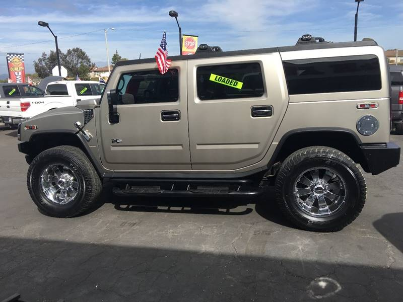 2003 Hummer H2 4dr Lux Series 4wd Suv In Oxnard Ca Hh Auto Center