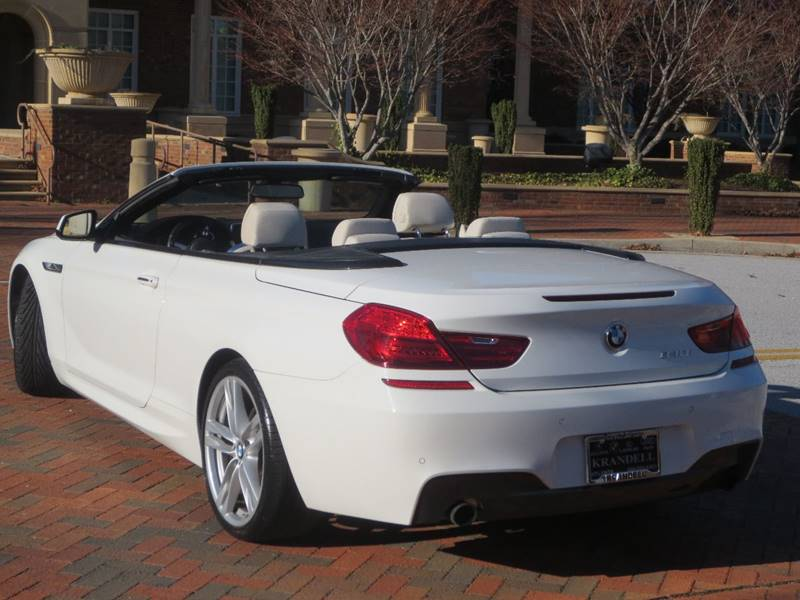 Bmw Series I Dr Convertible In Fayetteville GA - Bmw 640i convertible 2014