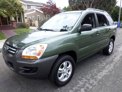 2007 Kia Sportage for sale at RonRoss Motors - Current Inventory in Redondo Beach CA