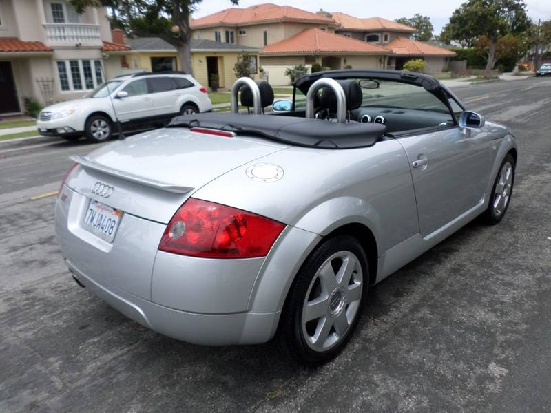 2001 Audi TT for sale at RonRoss Motors - Current Inventory in Redondo Beach CA