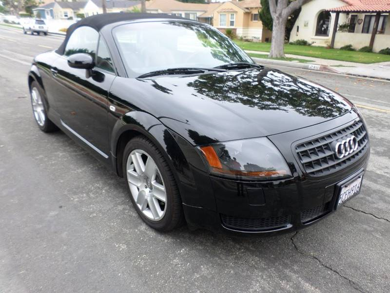 2003 Audi TT for sale at RonRoss Motors - Current Inventory in Redondo Beach CA