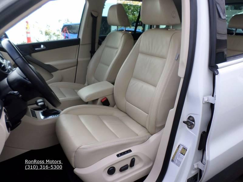 2009 Volkswagen Tiguan for sale at RonRoss Motors - Current Inventory in Redondo Beach CA