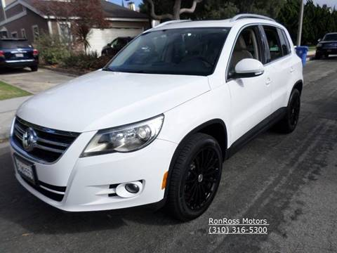 2009 Volkswagen Tiguan for sale at RonRoss Motors - Current Inventory in Redondo Beach CA
