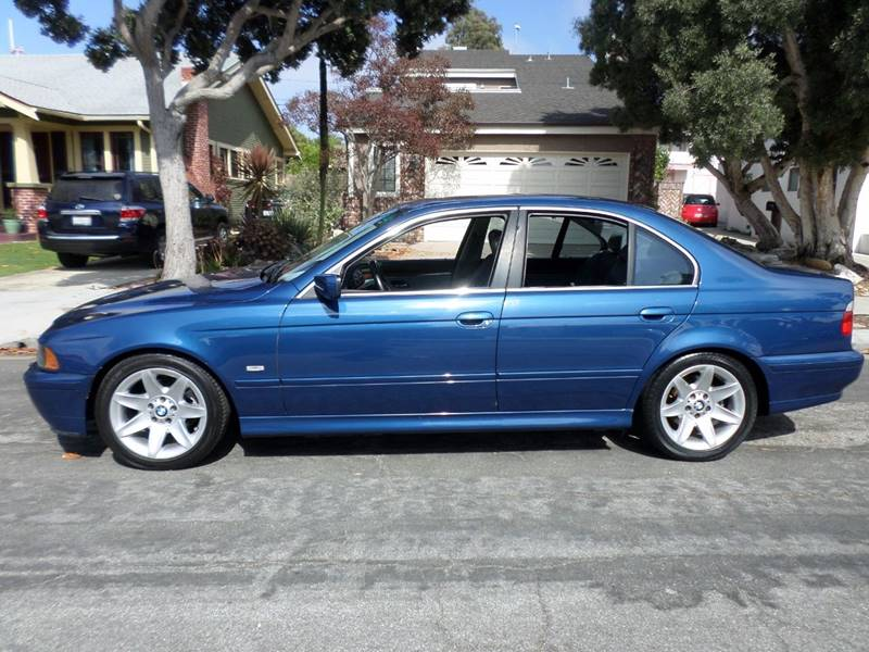 2003 BMW 5 Series for sale at RonRoss Motors - Current Inventory in Redondo Beach CA