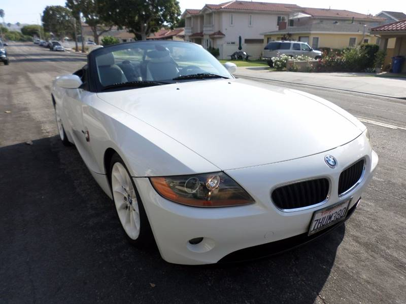 2004 BMW Z4 for sale at RonRoss Motors - Current Inventory in Redondo Beach CA