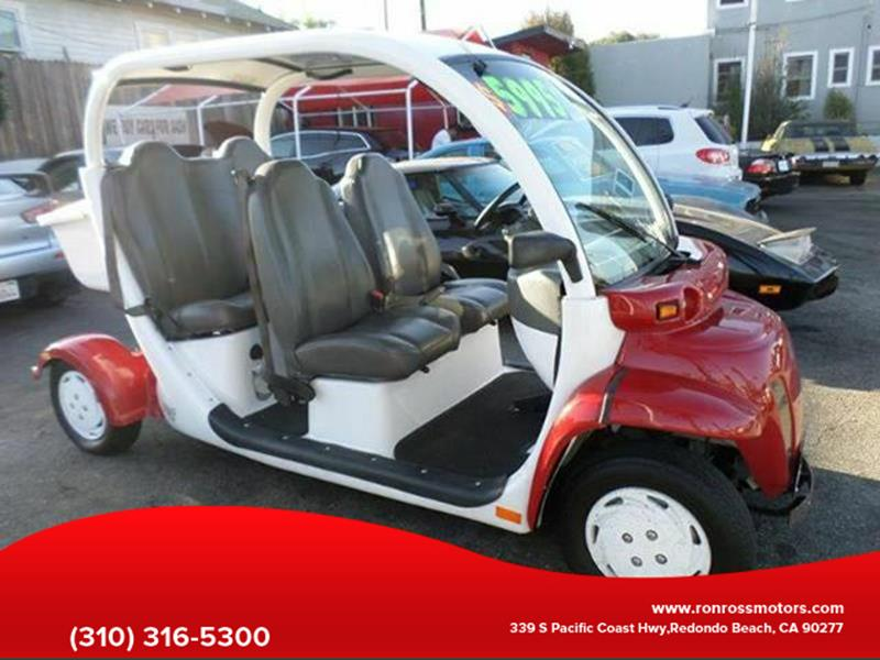 2002 Daimler/Chrysler GEM 825 for sale at RonRoss Motors - Current Inventory in Redondo Beach CA