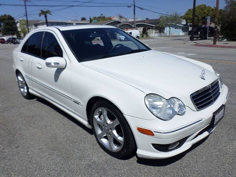2007 Mercedes-Benz C-Class for sale at RonRoss Motors - Current Inventory in Redondo Beach CA