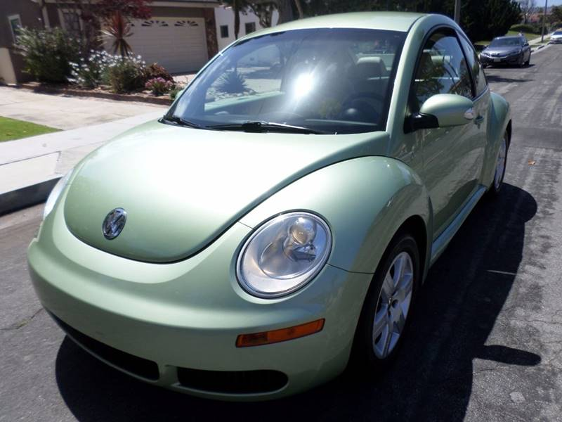 2007 Volkswagen New Beetle for sale at RonRoss Motors - Current Inventory in Redondo Beach CA