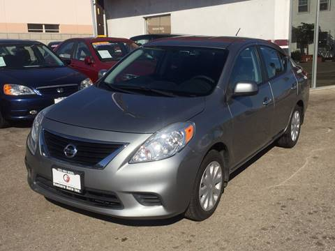 2013 Nissan Versa for sale at Venture Auto Inc in South Gate CA